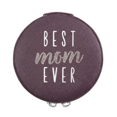 Best Mom Ever, Zippered Jewelry Case  -