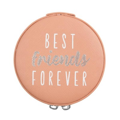 Best Friends Forever, Zippered Jewelry Case  -