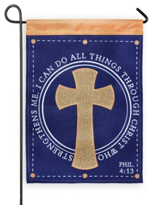 I Can Do All Things Through Christ Flag, Small  -