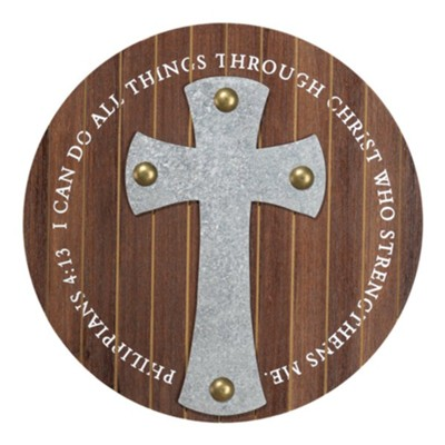 I Can Do All Things Through Christ Wall Cross  -