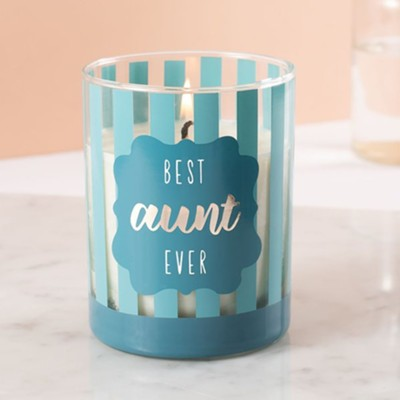 Best Aunt Ever Soy Candle  -
