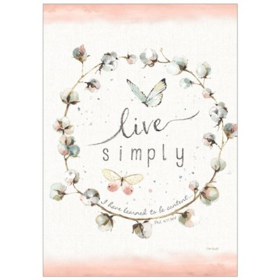 Live Simply Bible Companion Journal  -     By: Lisa Audit