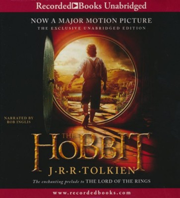 The Hobbit                                   - Audiobook on CD           -     Narrated By: Rob Inglis     By: J.R.R. Tolkien