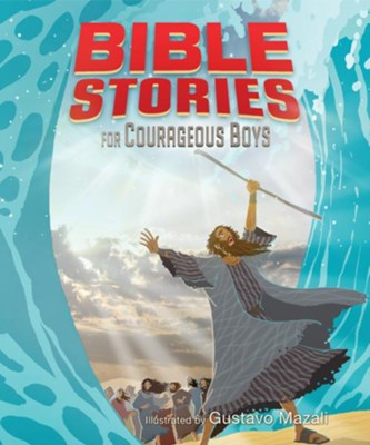 Bible Stories for Courageous Boys - eBook  -