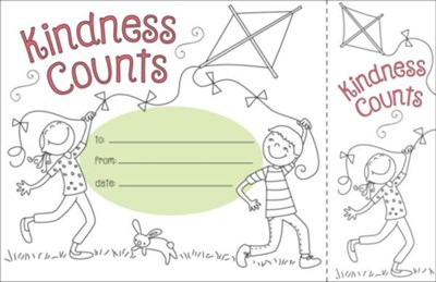 Color Me! Kindness Counts Recognition Awards & Bookmarks (Pack of 30)  -