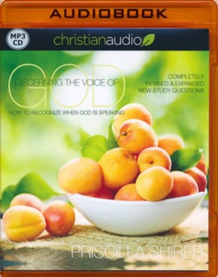 Discerning the Voice of God, Unabridged MP3-CD   -     Narrated By: Robin Miles     By: Priscilla Shirer