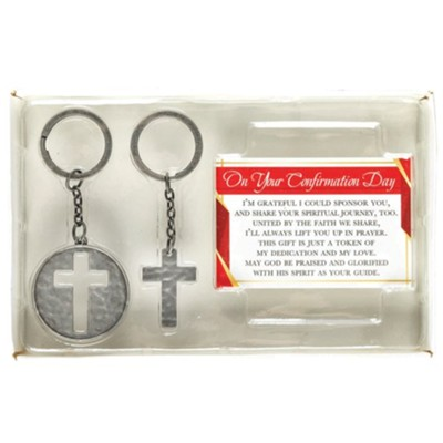 On Your Confirmation Day Keyring Set  -