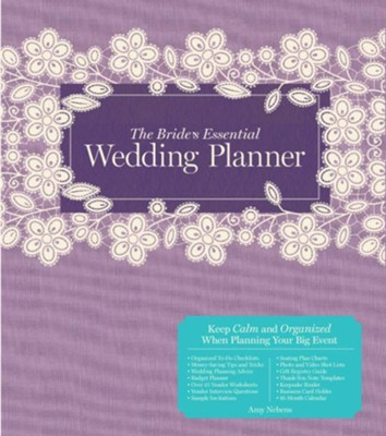 The Bride's Essential Wedding Planner: Deluxe Edition  -     By: Amy Nebens     Illustrated By: Greg Stadler