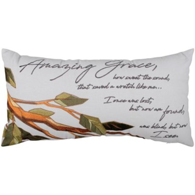 Amazing Grace Pillow  -