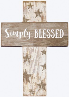 Simply Blessed Mini Cross  -