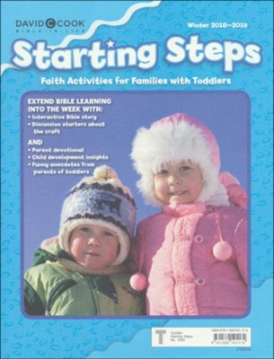 Bible-in-Life/Echoes: Toddler Starting Steps Take-Home, Winter 2018-19  -