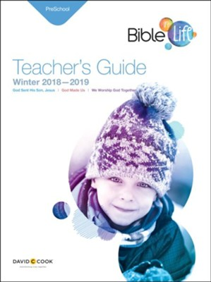 Bible-in-Life: Preschool Teacher's Guide, Winter 2018-19  -
