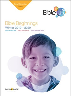 Bible-in-Life: Early Elementary Bible Beginnings (Student Book), Winter 2019-20  -     By: Bible-in-Life