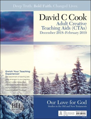 Bible-in-Life: Adult Creative Teaching Aids, Winter 2018-19  -