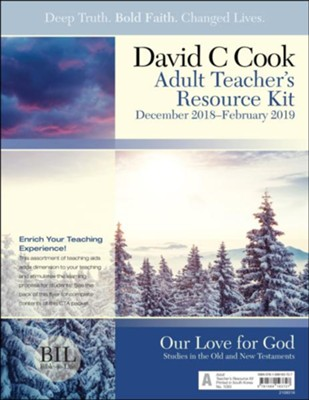 Bible-in-Life: Adult Teacher's Resource Kit, Winter 2018-19  -