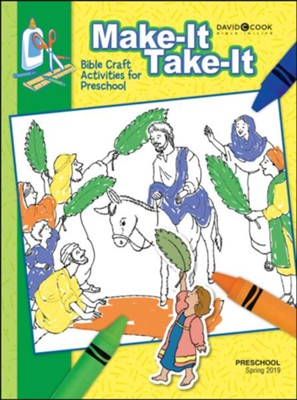 Bible-in-Life: Preschool Make It/Take It (Craft Book), Spring 2019  -