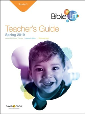 Bible-in-Life/Echoes: Toddler Teacher's Guide, Spring 2019  -