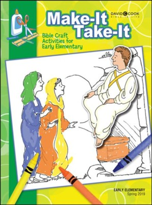 Bible-in-Life: Early Elementary Make It/Take It (Craft Book), Spring 2019  -