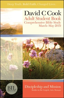 Bible-in-Life: Adult Student Book, Spring 2019  -