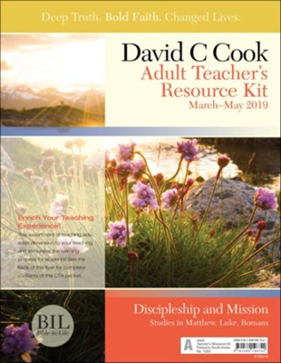 Bible-in-Life: Adult Teacher's Resource Kit, Spring 2019  -