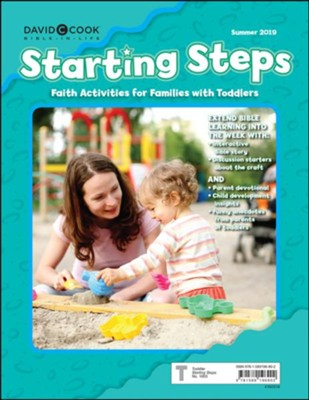Bible-in-Life/Echoes: Toddlers & 2s Starting Steps (Craft/Take-Home), Summer 2019  -