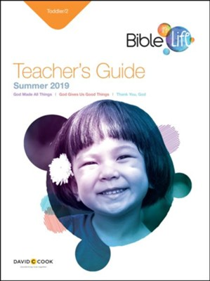 Bible-in-Life/Echoes: Toddlers & 2s Teacher's Guide, Summer 2019  -