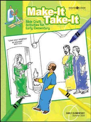 Bible-in-Life: Early Elementary Make It Take It Craft Book, Summer 2020  -