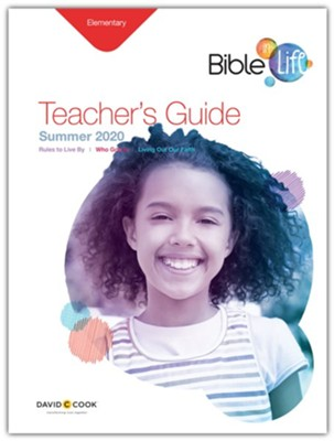 Bible-in-Life: Elementary Teacher's Guide, Summer 2020  -