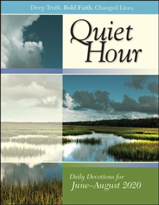 Bible-in-Life/Echoes: The Quiet Hour Devotional, Summer 2020  -