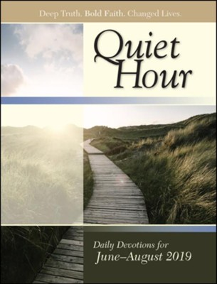 Bible-in-Life/Echoes: The Quiet Hour (Devotional Guide), Summer 2019  -