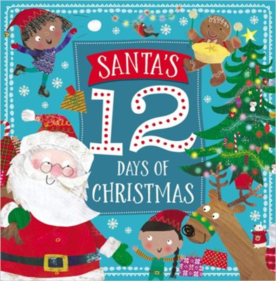 Story Book Santa's 12 Days of Christmas  -