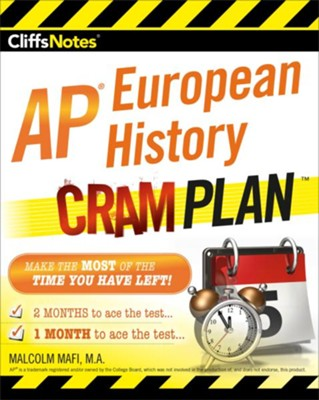 CliffsNotes AP European History Cram Plan / New edition  -     By: Malcolm Mafi