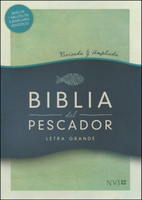 NVI Biblia del Pescador letra grande, caoba s&#237mil piel, (Fisher of Men Large Print Bible, Mahogany LeatherTouch)    -     Edited By: Luis &#193ngel D&#237az-Pab&#243n