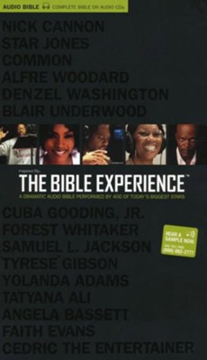 TNIV Complete Bible: The Bible Experience--79 CDs with bonus DVD  -