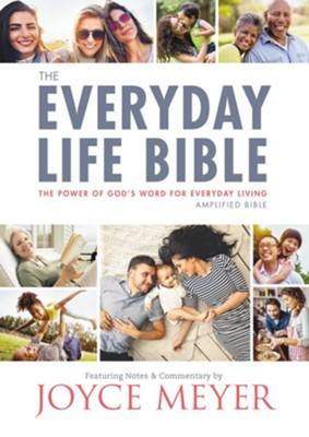 The New Everyday Life Bible: The Power of God's Word for Everyday Living - eBook  -     By: Joyce Meyer