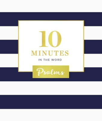 10 Minutes in the Word: Psalms - eBook  -     By: Zondervan