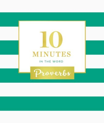 10 Minutes in the Word: Proverbs - eBook  -     By: Zondervan
