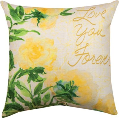Love You Forever Pillow  -     By: Martha Collins