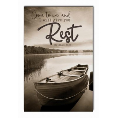 Come to Me and I Will Give You Rest Wall Art  -
