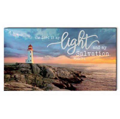 The Lord Is My Light and My Salvation Wall Art  -