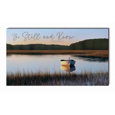 Be Still and Know Wall Art  -