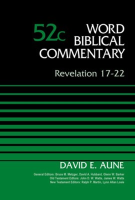 Revelation 17-22, Volume 52C - eBook  -     By: David E. Aune