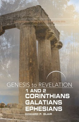 1-2 Corinthians, Galatians, Ephesians - Participant Book, Large Print, eBook (Genesis to Revelation Series)  -     By: Edward P. Blair
