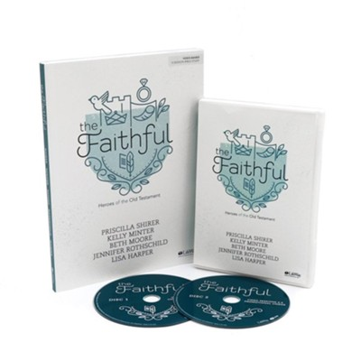 Faithful DVD Leader Kit: Heroes of the Old Testament   -     By: Priscilla Shirer, Kelly Minter, Beth Moore, Jennifer Rothschild & Lisa Harper