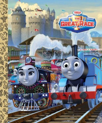 Little Golden Book: Thomas Summer 2016 Big Movie  -     By: Editors