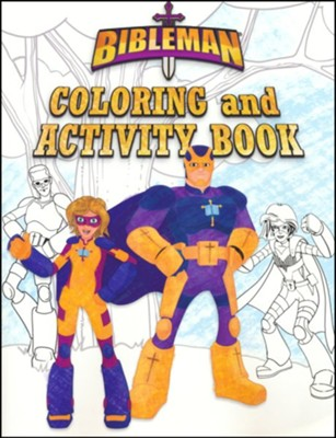 Bibleman Coloring and Activity Book  -