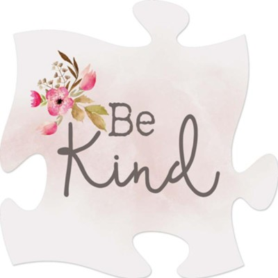 Be Kind Puzzle Art  -