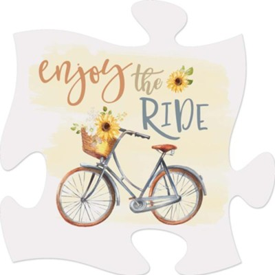 Enjoy the Ride Puzzle Art  -