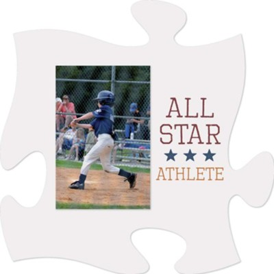 All Star Athlete Puzzle, Photo Frame  -