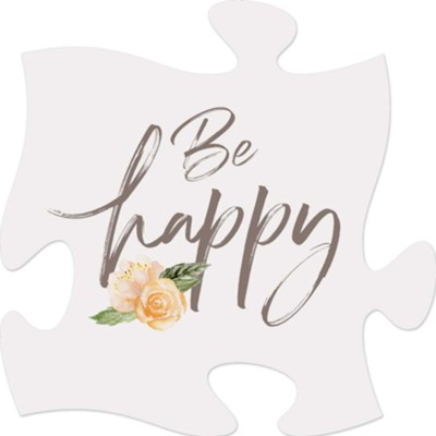 Be Happy Puzzle Art  -